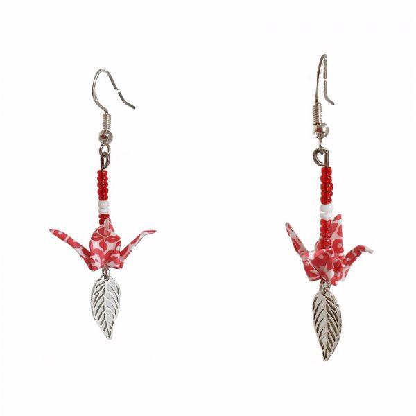 boucles-oreilles-origami-argent-feuille-a